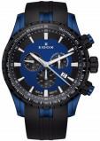 Afbeelding van Edox 10226 357BUNCA BUINO herenhorloge blauw edelstaal PVD
