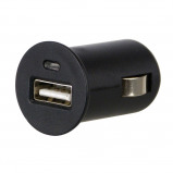 Afbeelding van Carpoint autolader USB 12/24 Volt 2,1 Ampère 4,5 cm zwart