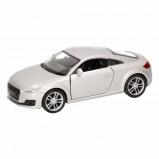 Afbeelding van Audi Speelgoed grijze TT 2014 Coupe auto 12 cm