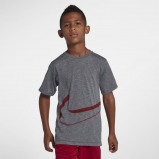 Image of Nike Pro Older Kids' (Boys') Short Sleeve Training Top Grey