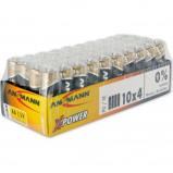 Afbeelding van Ansmann alkaline batterij x power mignon aa 40 stuks display
