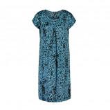 Afbeelding van Aaiko jurk met all over print blauw