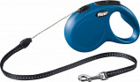 Afbeelding van Flexi New Classic Koordlijn S 5 Meter tot 12 kg Blauw...