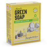 Afbeelding van Marcel's Green Soap Vaatwastabletten Grapefruit & Limoen 24 tabs