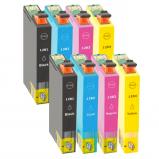 Afbeelding van Geschikt 2x Epson T1285 multipack (inktcartridges) Alleeninkt
