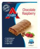 Afbeelding van Atkins Maaltijdreep day break chocolate raspberry multipack 5x30g
