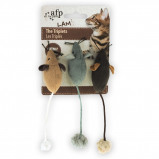Afbeelding van All For Paws Lambswool the Triplets Catnip