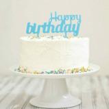 Afbeelding van Cakebanners (Happy birthday en Made with love) van DOIY
