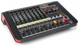 Afbeelding van Power Dynamics PDM M804A 8 kanaals muziek mixer / versterker