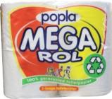 Afbeelding van Popla Toiletpapier Megarol 400 Vel (4rol)