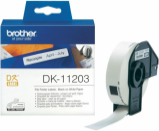 Bilde av Brother DK11203 etiketter arkivmapper 17 x 87mm 300 etiketter Original