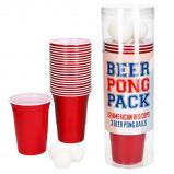 Afbeelding van Beer Pong Pack Red Cup Party 16oz 475cc rood