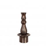 Afbeelding van Casa vivante kandelaar sebastian h30cm brons