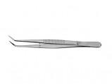 Afbeelding van Homeij Pincet in Etui 15 cm Gebogen Spitse Bek