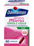 Afbeelding van Davitamon Compleet Mama Omega 3 Visolie 60 capsules