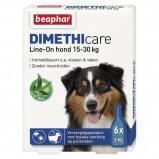 Bild av Beaphar Flea Treatment DIMETHIcare Line on Dog Medium 6Pips