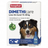 Obrázek Beaphar Flea Treatment DIMETHIcare Line on Dog Medium 6Pips