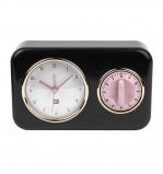 Afbeelding van PT Nostalgia tafelklok met timer (Kleur: zwart)
