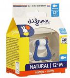 Afbeelding van Difrax Natural 12+ Nijntje Fopspeen 120 MF804 18