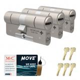 Afbeelding van Cilinderslot M&C Move (3 stuks)