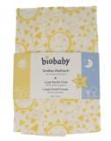 Afbeelding van bio baby Hydrofiele luier geel/wit 80x70cm 1 stuk