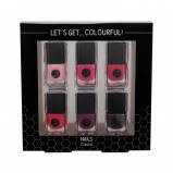 Zdjęcie 2K Let's Get Colourful! Classics zestaw Lakier do paznokci 6 x 5 ml dla kobiet Bez brokatu