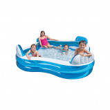 Afbeelding van Intex Swim Center Family Pool Zwembad Vierkant