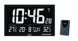Image of Balance Time LCD channel controlled wall clock