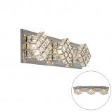 Obrázek Art Deco wall lamp bronze incl. LED Tableau