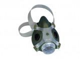 Afbeelding van 3M 7002 Halfgelaatsmasker Zwart M Halfgelaatsmaskers met bajonetaansluiting