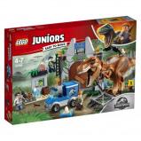 Afbeelding van 10758 LEGO® Juniors Jurassic World T Rex ontsnapping