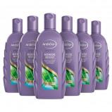 Afbeelding van Andrelon Special Kokos Boost shampoo 6x300 ml