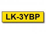 Bilde av Alternativ til Epson LK 3YBP svart tekst på gul tape 9 mm x 9m C53S653002