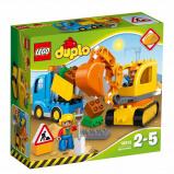 Afbeelding van 10812 LEGO® DUPLO® rupsband graafmachine
