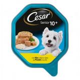 Afbeelding van OP=OP Cesar Senior Kip&Rijst in gelei Alu Kuipje 14x150gr Hondenvoer Natvoer