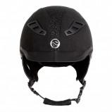 Bilde av Back on Track EQ3 Lynx Microfibre Sand Glitter Helmet