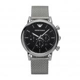 Afbeelding van Emporio Armani Horloge Luigi staal zilverkleurig/mesh AR1811