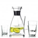 Afbeelding van Eva Solo Karaf Drupvrij 1 Liter + 4 Glazen 25 cl