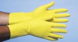 Afbeelding van CMT Rubber Huishoud Handschoenen Geel Extra Large 1PR