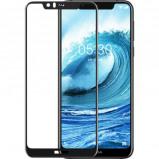 Afbeelding van Azuri Temperood Glass flat RINOX ARMOR voor Nokia 5.1 Plus (2018) zwart