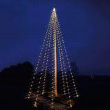 Afbeelding van Best Season fonk. LED lichtketting Flagpole v. vlaggenmast, kunststof, 0.01 W, energie efficiëntie: A+