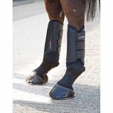Image of Arma Cross Country Boots Hind Black Cob