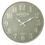 Image of Balance Time Lightgreen wall clock