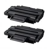 Afbeelding van Geschikt 2x Samsung ML D2850B toner zwart Alleeninkt