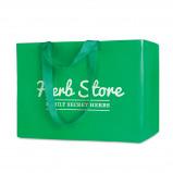 Afbeelding van 1000 st. Bedrukte Shopper tas XXL 90 x 35 38 cm Zeevracht bedrukken tassen Prijs incl. bedrukking