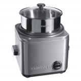 Afbeelding van Cuisinart Rijstkoker met stoominzet CRC800E, 1.5 liter