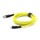 Afbeelding van EnerGea AluTough USB A naar Lightning kabel 1.5m Yellow