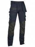Image of 4 work Alicante multipocket blue work trousers (Size: 44)