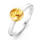 Afbeelding van 14 Krt Gouden Oorknoppen Witgoud Solitair met diamant 206.3007.00
