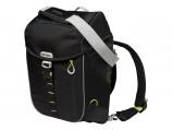 Afbeelding van Basil Miles backpack en fietstas (Basiskleur: lime groen/zwart)